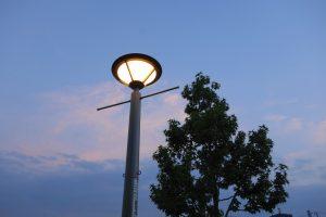 街路灯の不具合の参考写真