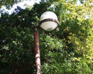 公園灯の不具合の参考写真